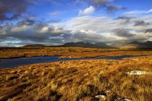 Roundstone Bog and the Twelve Pins in Connemara, Ireland by Chris Hill
