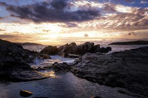Sunset at Allihies Beara, Ireland by Chris Hill