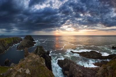 Sunset at Malin Head, Donegal, Ireland by Chris Hill