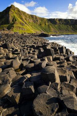 Sunset at the Giant's Causeway in Northern Ireland by Chris Hill