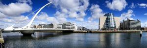 The Samuel Beckett Bridge in Dublin by Chris Hill