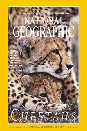 Cover of the December, 1999 National Geographic Magazine by Chris Johns