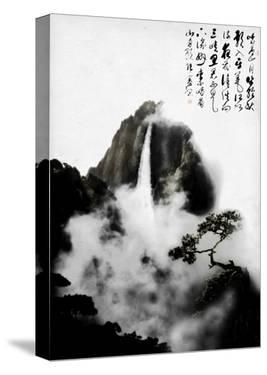 Chinese Drawing by Chris Kape