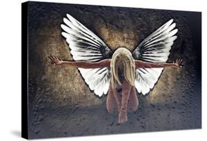 Grunge Angel II by Chris Kape