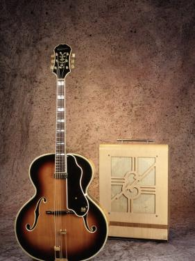 Guitar and Amplifier by Chris Minerva