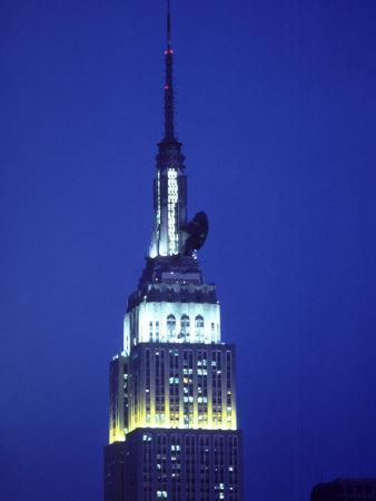 King Kong on Empire State Building, NYC,NY
