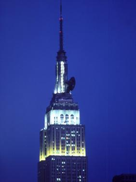 King Kong on Empire State Building, NYC,NY by Chris Minerva