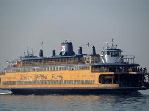Staten Island Ferry, Staten Island, NY by Chris Minerva