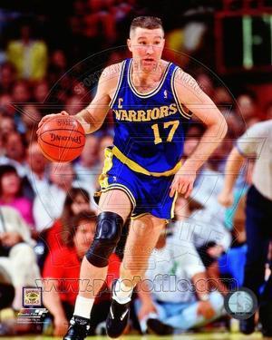 Chris Mullin 1991 Action