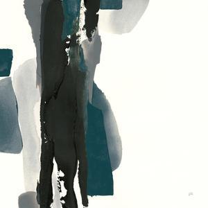 Black and Dark Teal II by Chris Paschke