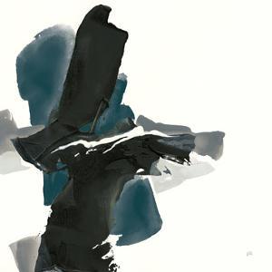 Black and Dark Teal IV by Chris Paschke