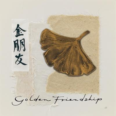 Bronze Leaf I Golden Friendship by Chris Paschke