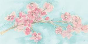 Cherry Blossom I Teal by Chris Paschke