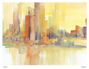 City Glow I by Chris Paschke