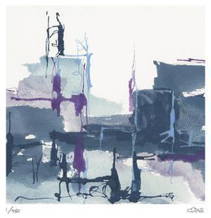 City Indigo II by Chris Paschke