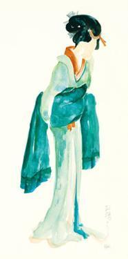 Geisha II Bright Crop by Chris Paschke