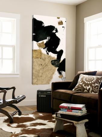 Gilded Collage I on White