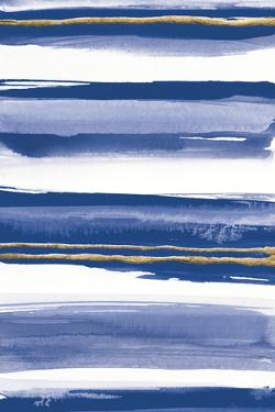 Gilded Grey IV Indigo and White by Chris Paschke