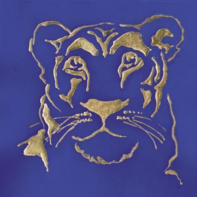 Gilded Lioness Indigo by Chris Paschke