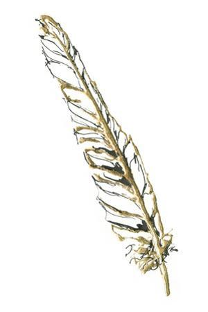 Gilded Swan Feather I