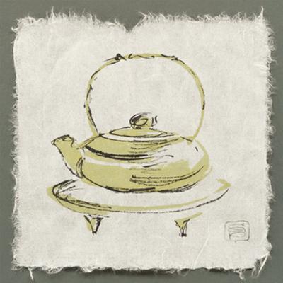Green Teapot by Chris Paschke