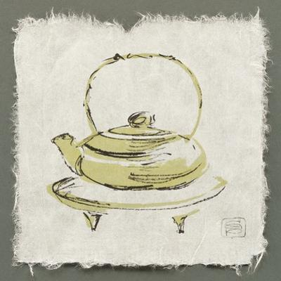 Green Teapot by Chris Paschke