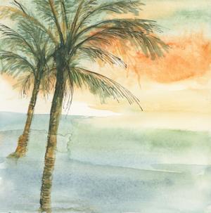 Island Sunset I by Chris Paschke
