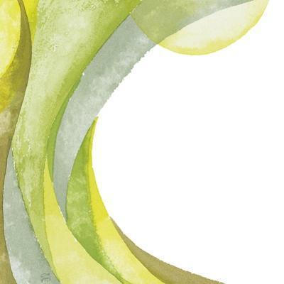 Lime Geometric I by Chris Paschke