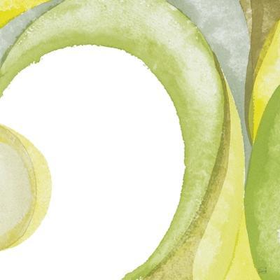 Lime Geometric II by Chris Paschke