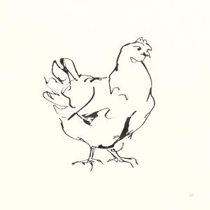 Line Chicken I by Chris Paschke