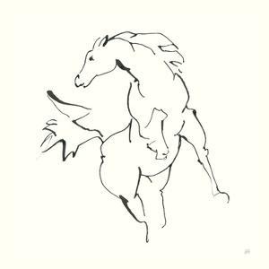 Line Horse VIII by Chris Paschke