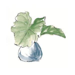 Plant Big Leaf I Dark Green by Chris Paschke