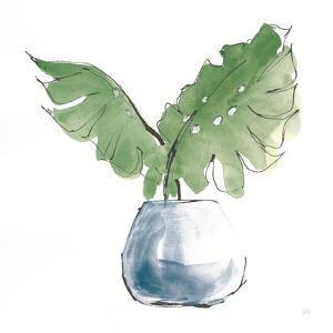 Plant Big Leaf II Dark Green by Chris Paschke