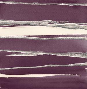 Silver Rose II Purple by Chris Paschke