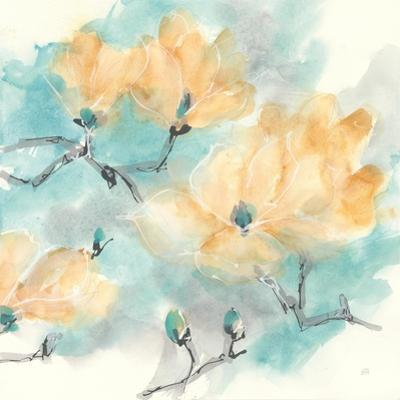 Teal Buds I by Chris Paschke