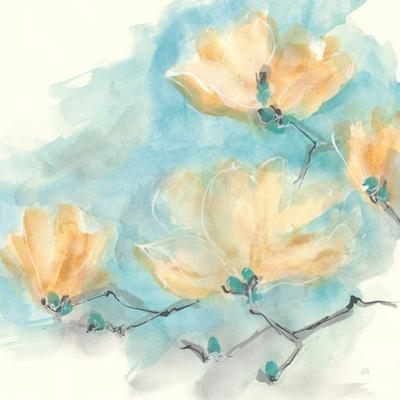 Teal Buds III by Chris Paschke