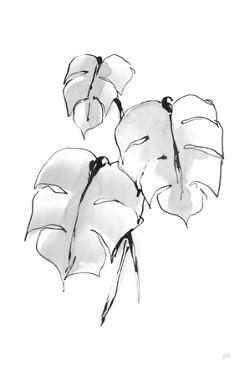 Wash Split Leaf I by Chris Paschke