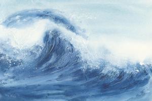 Waves II by Chris Paschke