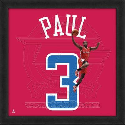 Chris Paul, Clippers  Representation of the player's jersey