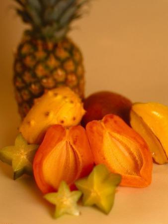 Assortment of Tropical Fruit