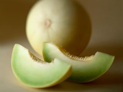 Honeydew Melon and Slices by Chris Rogers