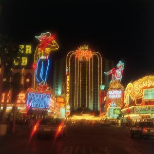 Neon Signs on the Strip, Las Vegas, Nevada by Chris Rogers