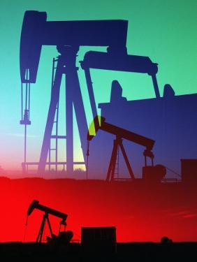 Oil Pumps, Colorado by Chris Rogers