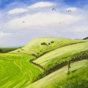 The Hang Glider by Chris Ross Williamson