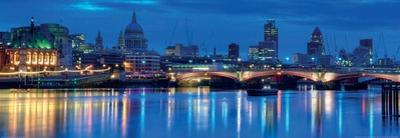 The City of London at Dawn