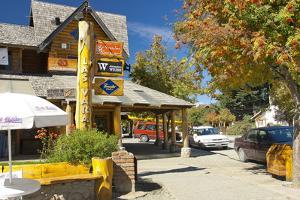 Argentina, Patagonia, Vila La Angostura, City Centre, Shops by Chris Seba
