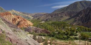 Argentina, Province Jujuy, Andes-Highland, Mountain Scenery, Rock-Formations by Chris Seba