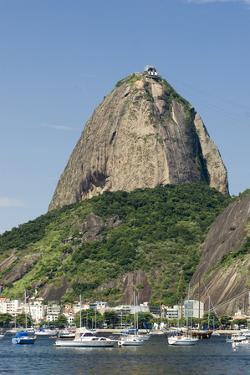Brazil, Rio De Janeiro, Botafogo, Sugarloaf, Harbor by Chris Seba