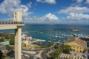 Brazil, Salvador Da Bahia, Elevador Lacerda, Harbour, Sea View, Covered Market by Chris Seba