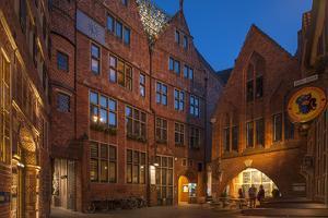 Bšttcherstrasse (Street), Bremen, Germany, Europe by Chris Seba